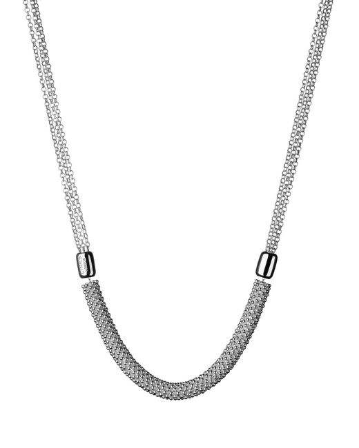 Links of London | Metallic Effervescence Star Sterling Silver Necklace | Lyst