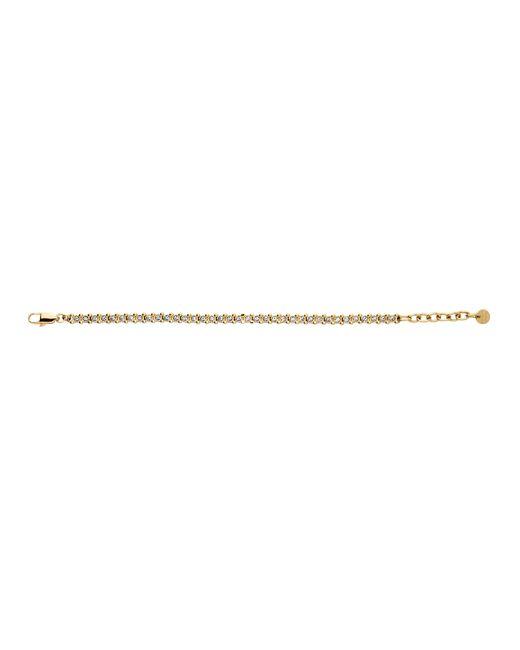Dyrberg/Kern | Metallic Nivalis Shiny Gold Crystal Bracelet | Lyst