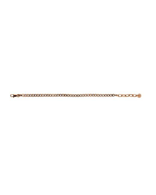 Dyrberg/Kern | Pink Cony Rose Gold Crystal Bracelet | Lyst