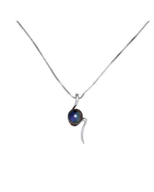 Azendi | Metallic S-shaped Peacock Pearl Pendant | Lyst