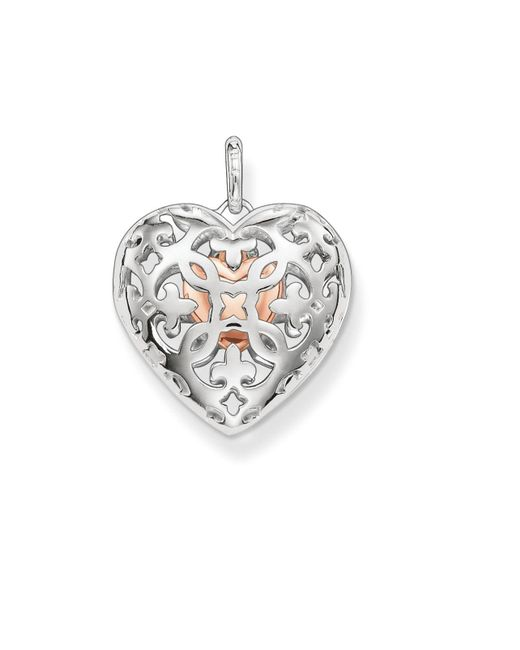 Thomas Sabo | Metallic Open Your Heart Locket With Small Heart Inside | Lyst