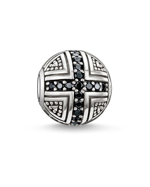 Thomas Sabo | Black Karma Bead Hero | Lyst