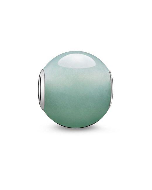 Thomas Sabo | Metallic Karma Bead Green Aventurine | Lyst