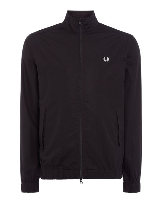 Fred Perry - Black Men's Shirt Jacket for Men - Lyst
