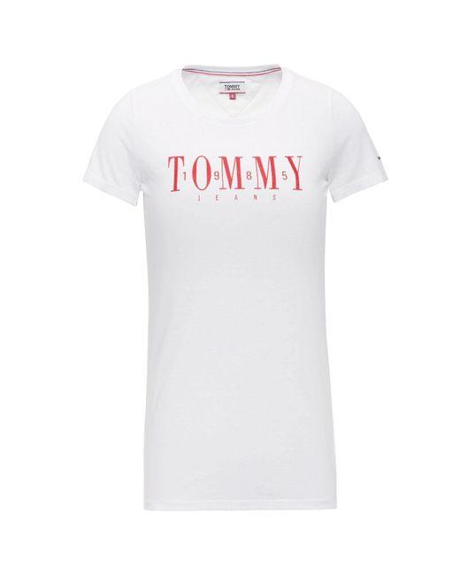 Tommy Hilfiger White Tee