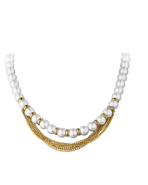 Dyrberg/Kern | White Sabha Bracelet | Lyst