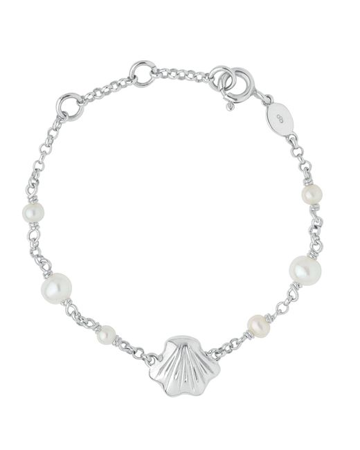 Links of London | Metallic Baby Shell Id Bracelet | Lyst