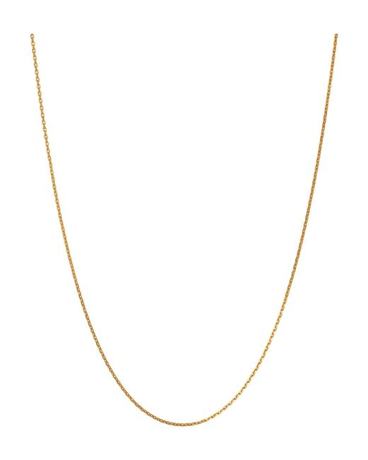 Links of London | Metallic Diamond Cut Cable Chain 50cm | Lyst