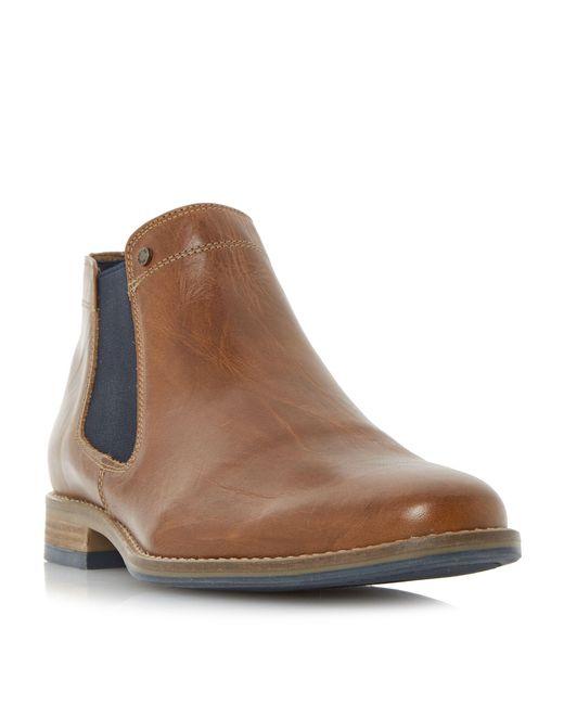 Dune | Brown Chicago 1 Plain Toe Chelsea Boot for Men | Lyst