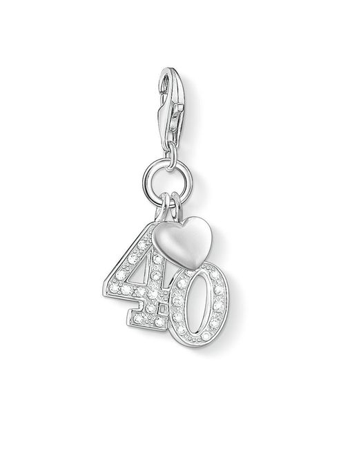 Thomas Sabo | Metallic Charm Club 40 Pendant | Lyst