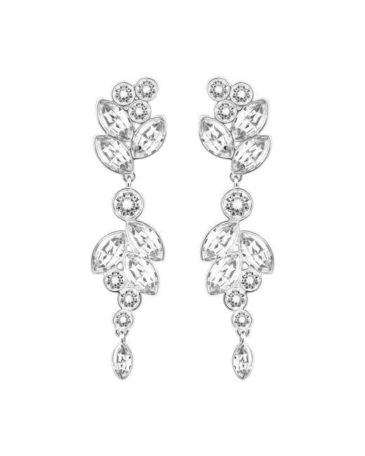 Swarovski | Metallic Diapason Pierced Earrings | Lyst
