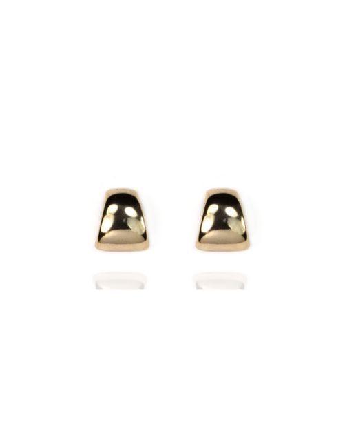 Anne Klein | Metallic Silver Stud Earrings | Lyst