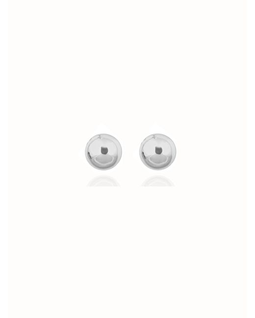 Anne Klein | Metallic Pearl Stud Earrings | Lyst