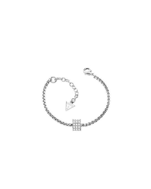 Guess | Metallic G Rounds Silver Bracelet | Lyst