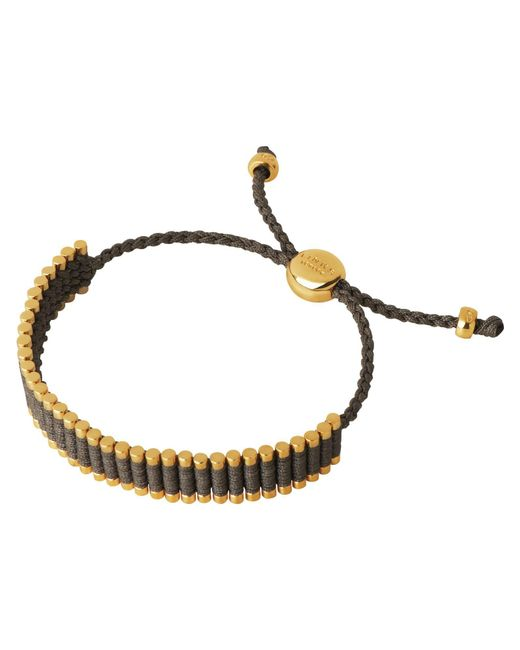 Links of London | Metallic Khaki Friendship Bracelet | Lyst