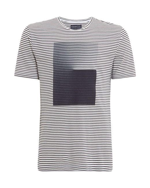 Criminal - White Men's Plato Ombre Striped T-shirt for Men - Lyst