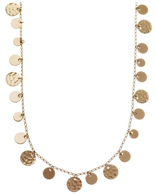 Nine West | Metallic Strand Neckalce | Lyst