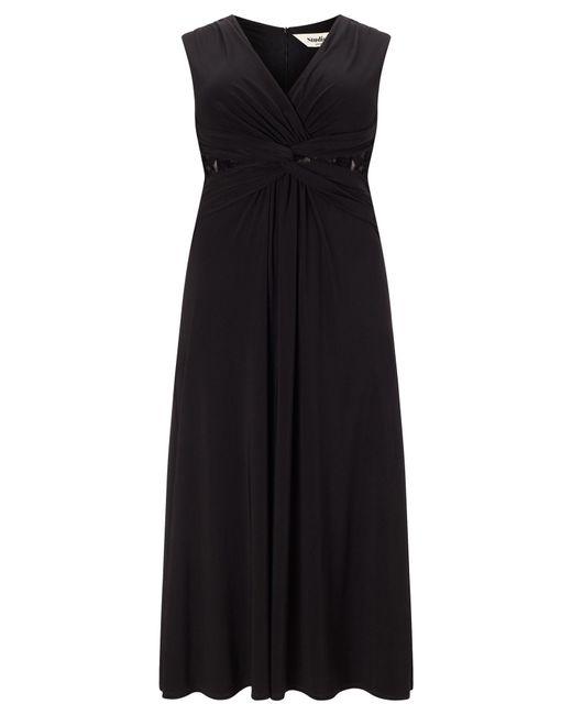 Studio 8 | Black Plus Size Sophie Twist Lace Maxi Dress | Lyst