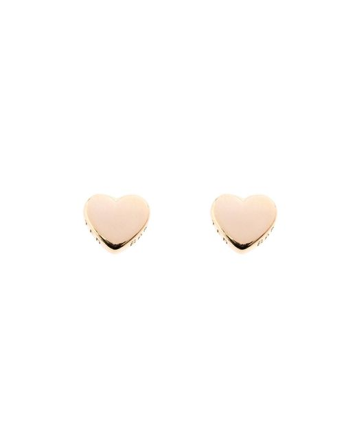 Ted Baker | Metallic Harly Gold Tiny Heart Stud Earring | Lyst
