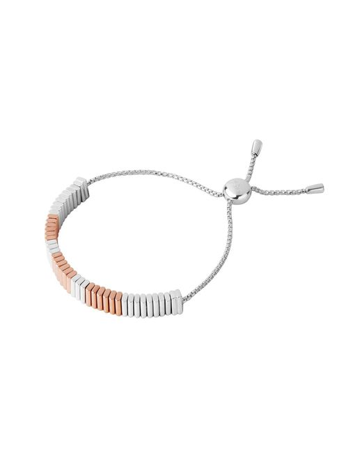 Links of London | Metallic True Friendship Rose Gold Bracelet | Lyst