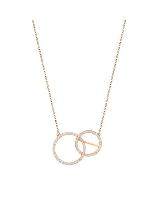 Swarovski | Metallic Flash Necklace | Lyst