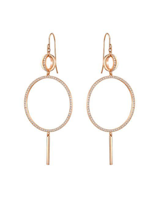 Swarovski | Metallic Flash Earrings | Lyst
