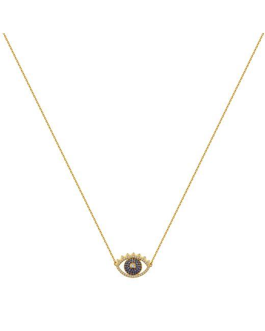 KENZO | Metallic 236860102047 Cubic Zirconia Necklace | Lyst