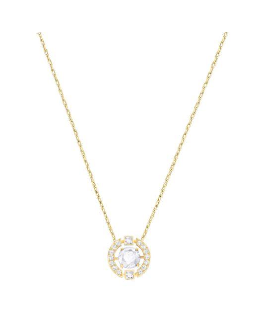 Swarovski | Metallic Sparking Necklace | Lyst