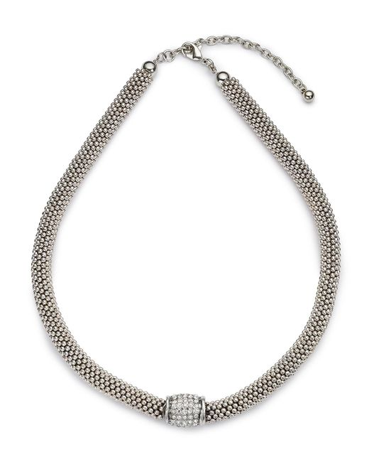 Jacques Vert | Metallic Diamante Insert Necklace | Lyst