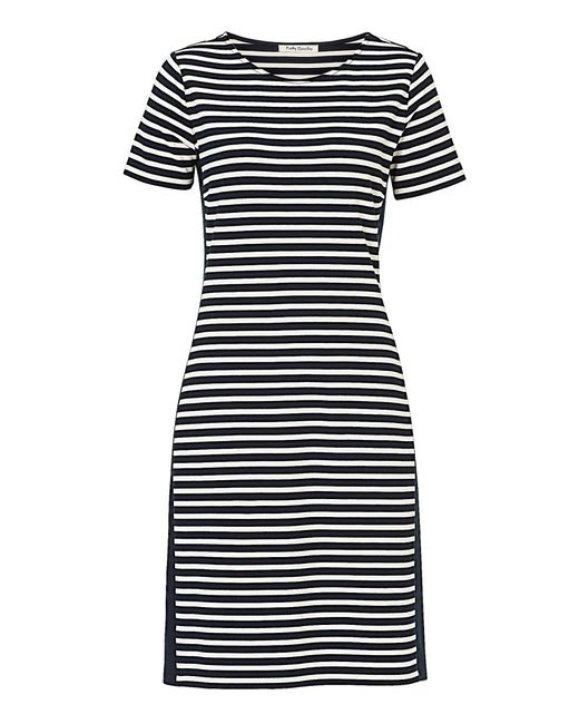 Betty Barclay - Black Striped Jersey Dress - Lyst