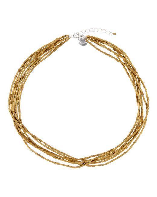 Jaeger   Metallic Ella Multi Strand Necklace   Lyst