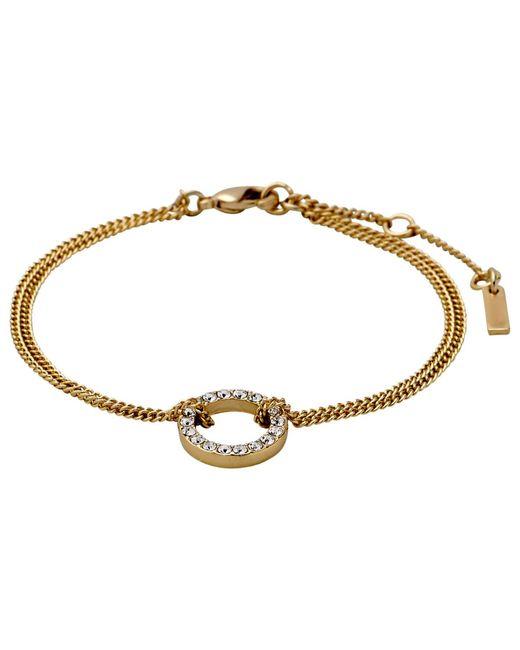 Pilgrim | Metallic Gold Beautiful & Simple Bracelet | Lyst