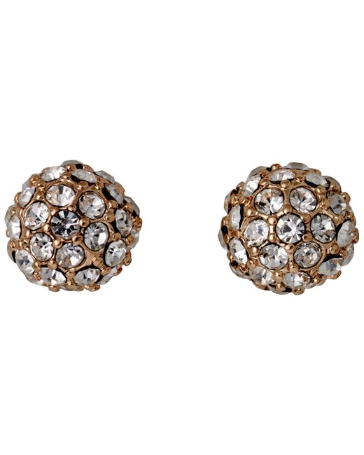 Pilgrim | Metallic Round Shaped Earrings | Lyst