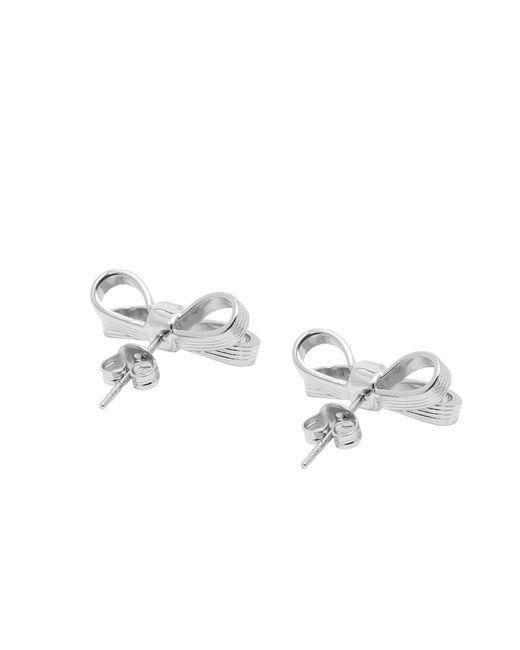 Ted Baker | Metallic Mini Bow Stud Earrings | Lyst