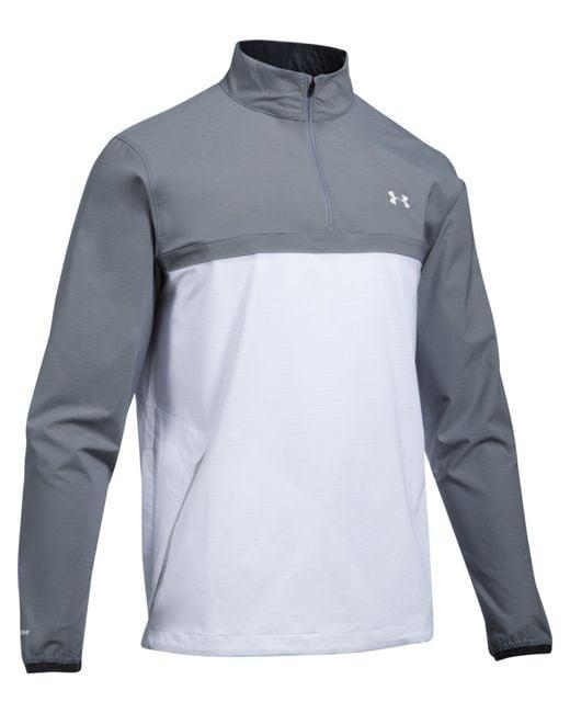 Under Armour - White Men's Storm Windstrike 1/2 Zip Jacket for Men - Lyst