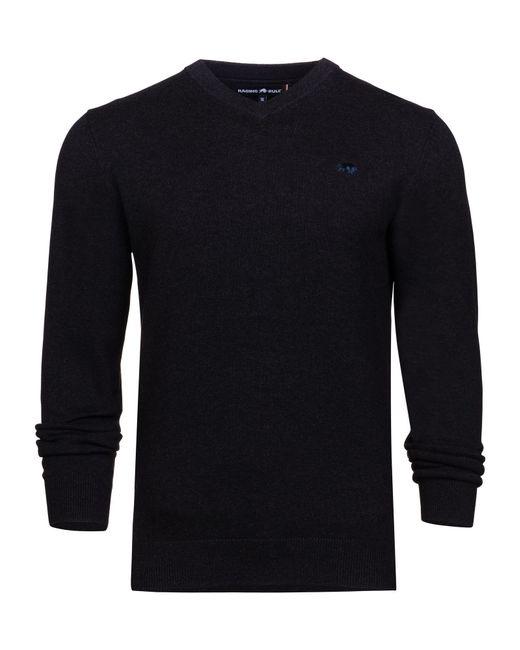 Raging Bull | Black Men's V-neck Cottcash Sweater for Men | Lyst