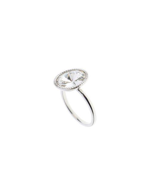 Ted Baker   Metallic Rada Silver Rivoli Crystal Ring   Lyst