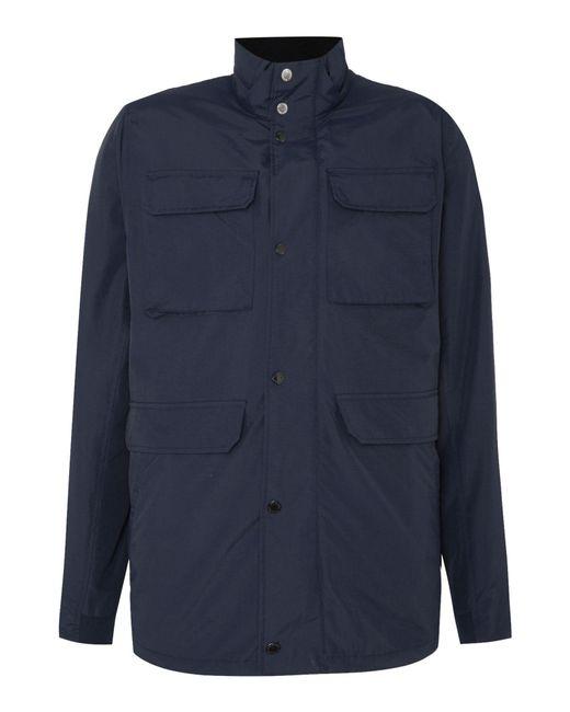 Original Penguin | Blue Men's Nylon Ottoman Jacket for Men | Lyst