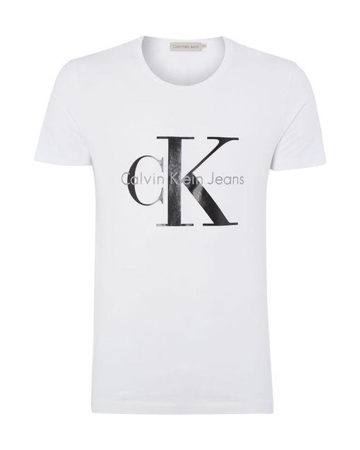 CALVIN KLEIN 205W39NYC - White Tee T-shirt for Men - Lyst
