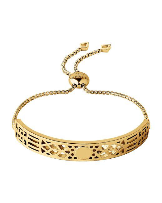 Links of London - Metallic Timeless 18kt Yellow Gold Vermeil Toggle Bracelet - Lyst