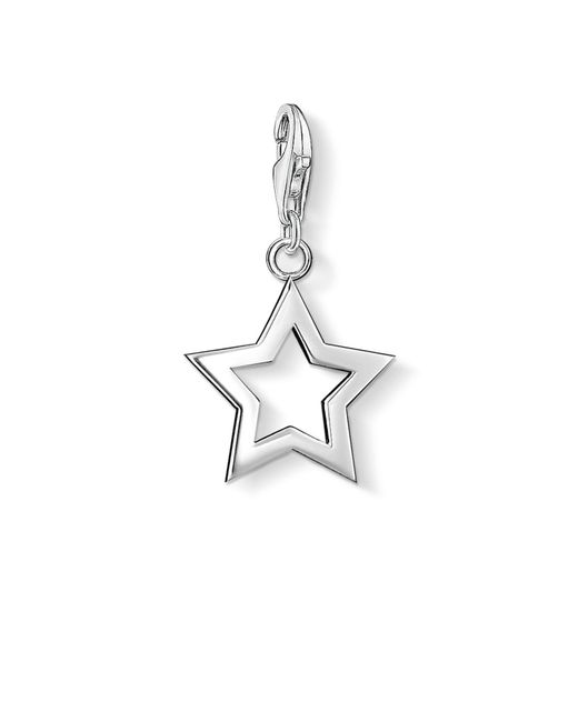 Thomas Sabo - Metallic Charm Club Star Pendant - Lyst