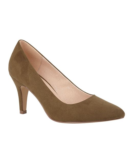 Lotus Green Holly Court Shoes