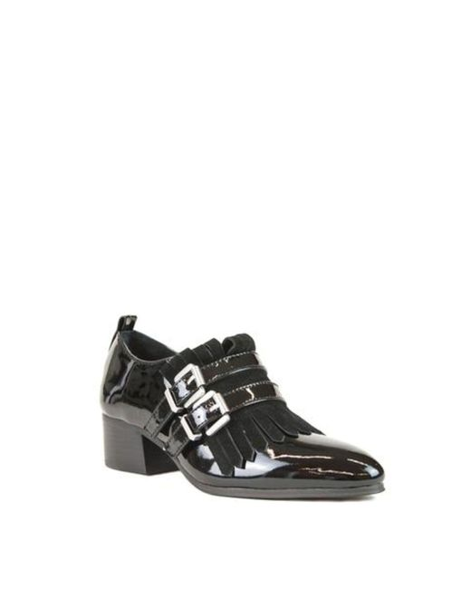 Shellys London - Black Salisbury Strap Loafers - Lyst
