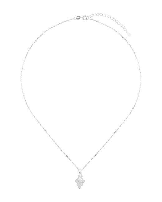Mikey - Metallic Silver Fruit Drop Pendant - Lyst