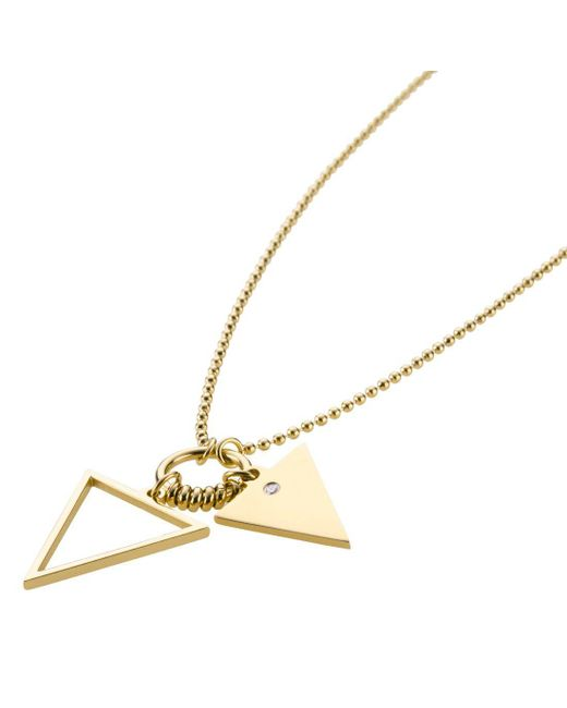 Storm | Metallic Rohaise Necklace Gold | Lyst