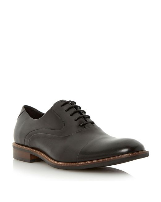 Bertie - Black Radius Lace Up Formal Oxford Shoes for Men - Lyst