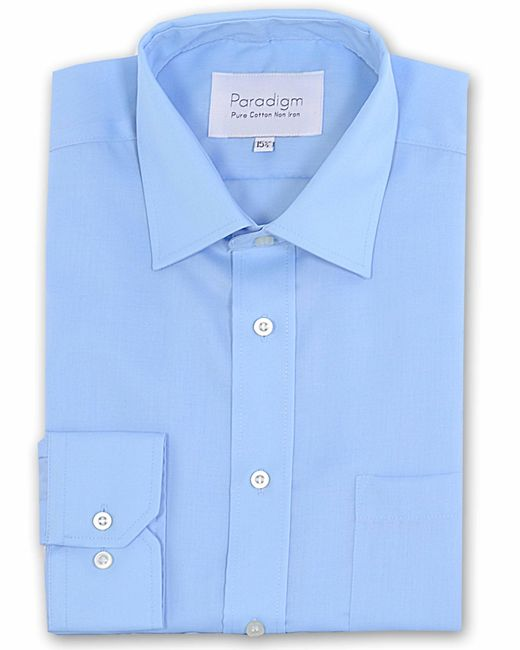 Double Two | Blue Paradigm King Size Single Cuff Pure Cotton Shirt for Men | Lyst