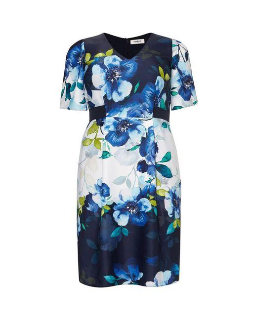 Studio 8 Blue Anise Floral Dress