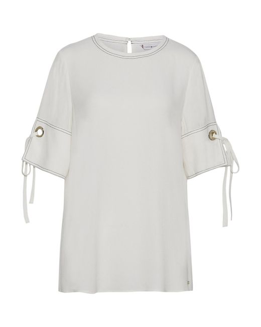 Tommy Hilfiger White Naoimi Top