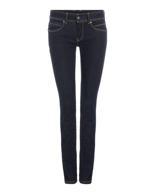 Pepe Jeans - Blue Denim Pants - Lyst